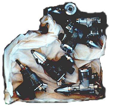 F3D Pylon Racing: Engines