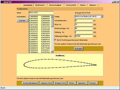 JavaFoil - Users Manual